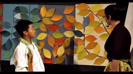 小学五年级美术《色彩的世界(一)》教学视频-浙江-马上-2014年全国中小学美术培训示范课视频