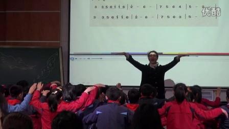 人音版音乐六下第7课《和平颂》课堂教学视频实录-骆琴琴