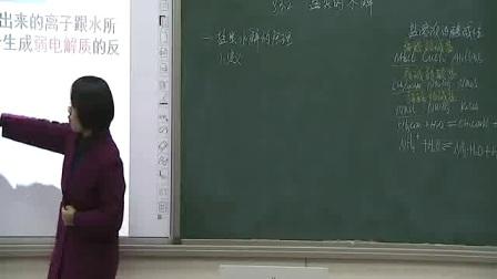 《盐类的水解》人教版高二化学-郑州扶轮外语学校:陈亚轲