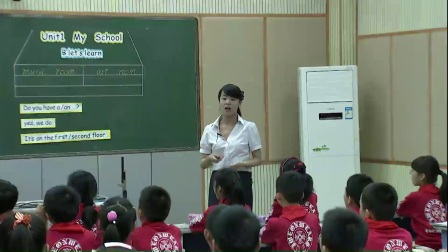 人教版英语四下第一单元《Let's learn》课堂教学视频实录-王笑霞