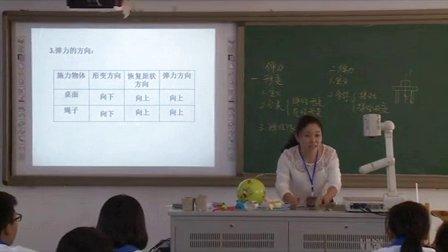 2015年江苏省高中物理优课评比《弹力》教学视频,笪洁