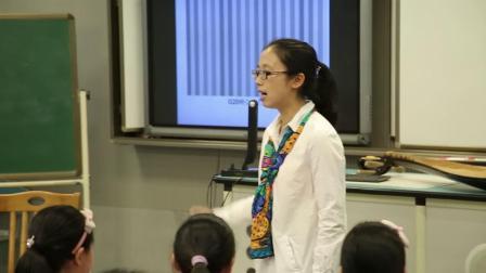 人音版音乐六下第7课《和平颂》课堂教学视频实录-刘项丹