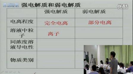 深圳2015优质课《离子反应》人教版高一化学,深圳外国语学校:胡端年