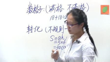 人教版数学五上《不规则图形面积的估算》课堂教学视频实录-邵颖