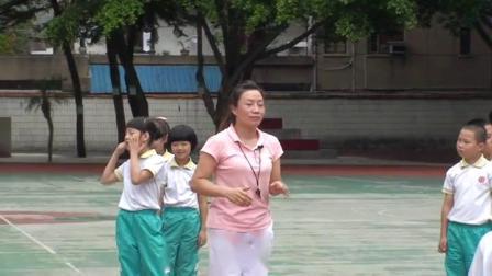 《立定跳远》三年级体育,郭清霞