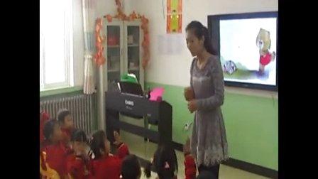 2015一师一优课《小熊的尾巴》幼儿园中班语言看图讲述,陇西县镇南九年制学校:朱云霞