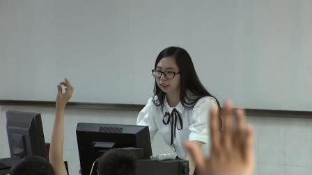 浙江摄影版信息技术三下第12课《连词成句变化多》课堂教学视频实录-马聘