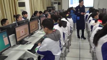 《学做flash动画》2016人教版版信息技术八上,郑州六十六中:张俊格